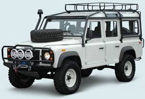 Тюнинг Land Rover Defender 110 1990+