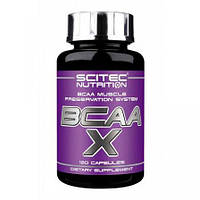 BCAA аминокислоты Scitec Nutrition BCAA X (120 капс)