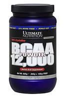 BCAA аминокислоты Ultimate Nutrition BCAA 12,000 powder (400 г) (без вкуса)