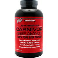 Аминокислоты MuscleMeds Carnivor Beef Aminos (300 таб)