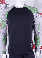 Мужской свитшот с модным оформлением рукава, фото 1