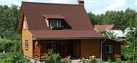 Ондулин коричневый (Польша 2м*0,95 м)