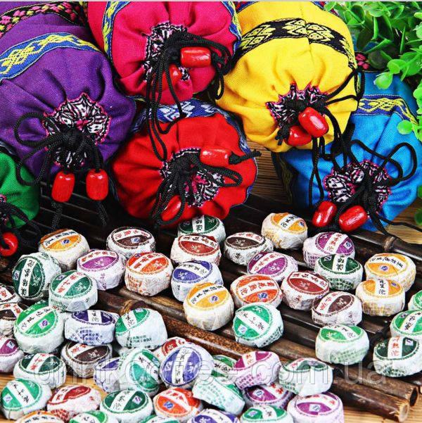 Подарочный набор Пуэр, 50 шт., 10 различных вкусов, 200 g из провинции Юньнань Китай
