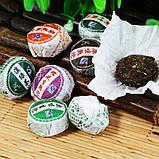 Подарочный набор Пуэр 50 шт. 10 различных вкусов 275 g из провинции Юньнань Китай, фото 2