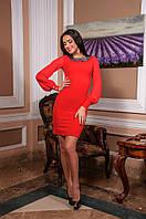 Платье женское С шифоновыми рукавами