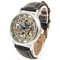 Мужские часы GOER Skeleton (silver)