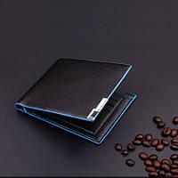 [ Портмоне ] Мужской кошелек бумажник черный