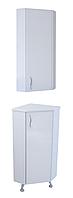 """Комплект мебели для ванной комнаты """"Угловой-1"""" (правый)"""