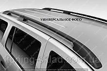 Рейлінги на дах Опель Комбо З (поздовжні рейлінги Opel Combo З кінцевик.сталь)