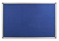 Доска текстильная 60x90см алюмин. рамка, фото 1