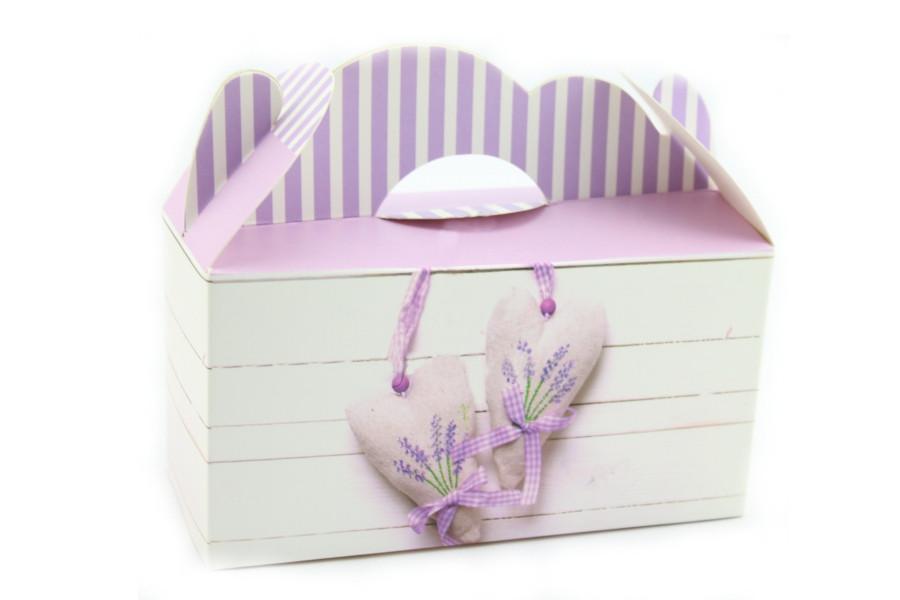 Подарочная коробочка бонбоньерка ко дню влюбленных