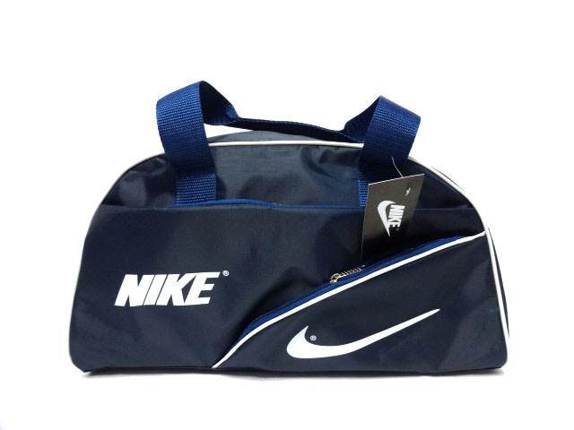 Спортивная сумка Nike (Найк) синяя для спортзала реплика