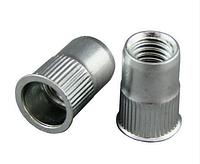 Заклепки резьбовые — клепальные гайки с потайной головкой от М3 до М12