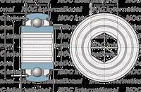 206 KRRB AH06  (SK 100-206 KRRB)         INA
