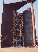 Предлагаем резервуары для растительных масел объемом 1000 м3, высота 12 м, диаметр 10,43 м, вес резервуара 32