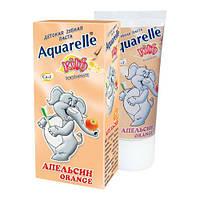 Апельсиновая зубная паста для детей Aquarelle Orange 50 мл