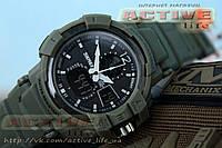 Мужские спортивные часы SKMEI 1040 , водонепр.50m! s-shock (green) + ВІДЕО, фото 1