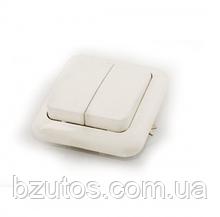 Выключатель С56-У13 АБС 2-клавишный