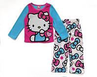 Флисовая пижама Hello Kitty для девочки. 4, 8 лет