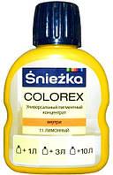 Концентрат Colorex Sniezka № 11 лимонный, фото 1