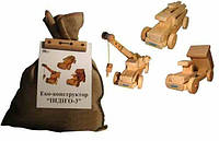 """Эко-конструктор """"Индиго-3"""", деревянный, 172025"""