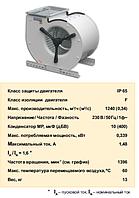 Центробежный вентилятор Fischbach двустороннего всасывания D 240/E 1