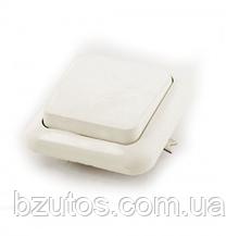 Вимикач С16-У11 АБС 1-клавішний