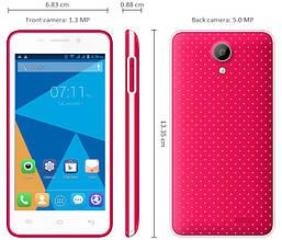 Смартфон Doogee Leo DG280 (1Gb+8Gb) (Red) Гарантия 1 Год!, фото 2