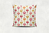 Подушка Сердечно-Цветочная Нежность