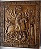 Иконы резные. Икона Святого Георгия Победоносца 34*28*3 см