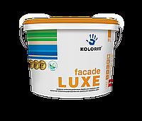 Краска фасадная Kolorit Fasilit (Колорит Фасад Люкс) Facade Luxe) 4.5 л (База LА)