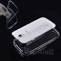 Прозрачный силиконовый чехол для Samsung Galaxy S4 (i9500)