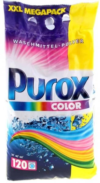 Порошок стиральный для цветного белья Purox color 10кг. 120 стирок Германия