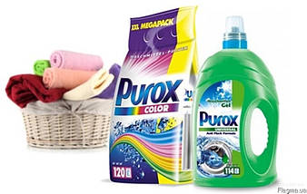 Порошок стиральный для цветного белья Purox color 10кг. 120 стирок Германия, фото 2