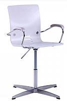 Кресло Фиджи Хром Дуб белёный