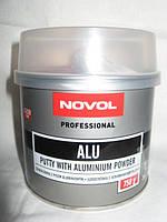 Автомобильная шпатлевка NOVOL Alu с алюминием 0,75кг.