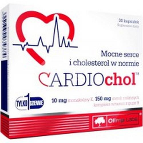 Препарат для поддержки работы сердца Olimp Labs Cardio Chol (30 ...