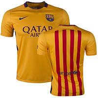 Футбольная форма 2015-2016 Барселона (Barcelona) выездная