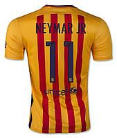 """Футбольная форма 2015-2016 Барселона (Barcelona) """"NEYMAR №11"""" выездная"""