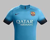 """Футбольная форма 2015-2016 Барселона (Barcelona) """"NEYMAR №11"""" резервная"""