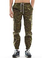 Камуфляжные штаны мужские летние YSTB CADPAT , зауженные с карманами карго (с манжетами, брюки-карго, Cargo)