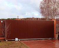 Комплект для сдвижных ворот ( проем до 4х метров) с автоматикой NICE