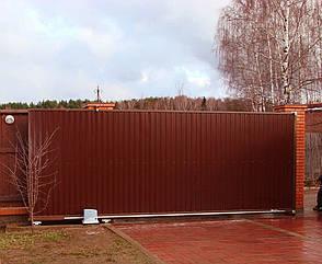 Комплект для сдвижных ворот ( проем до 4х метров) с автоматикой NICE, фото 2