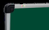 Дошка для крейди 65х100см алюм.рамка S-line, фото 2