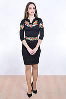 Молодежное платье вышиванка