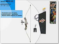 Арбалет 9822-12 колчан, стрелы-присоски