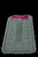 Коврик для ванной Maximus - Ethnic cagla (оливковый) 50*80
