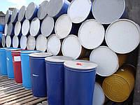 Бочка 220 литров со съемной крышкой и хомутом пищевая (перфорация)
