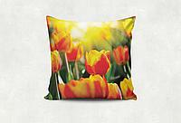 Подушка Тюльпаны