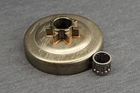 Корзина цельная с шагом 0.325 + подшипник для бензопил тип Husqvarna 340, 345